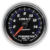 Gauges And Pods - Gauges - Auto Meter - Autometer Cobalt 1600 deg F Pyrometer