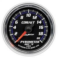 Gauges And Pods - Gauges - Auto Meter - Autometer Cobalt 2000 deg F Pyrometer
