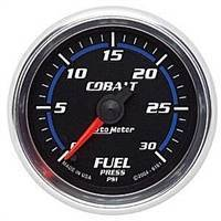 Gauges And Pods - Gauges - Auto Meter - Autometer Cobalt 30psi Fuel Pressure