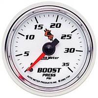 Gauges And Pods - Gauges - Auto Meter - Autometer C2 Boost Gauge 35psi