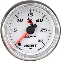 Gauges And Pods - Gauges - Auto Meter - Autometer C2 Boost Gauge 30psi