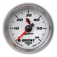 Gauges And Pods - Gauges - Auto Meter - Autometer C2 Boost Gauge 60psi