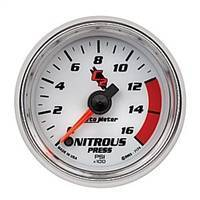 Gauges And Pods - Gauges - Auto Meter - Autometer C2 Nitrous Pressure 1600psi
