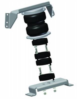 Steering And Suspension - Air Lift - Air Lift LOCK-N-LIFT; AIR SPRING SPACER; 4 IN. LIFT; INCL. HARDWARE; NO DRILL; INSTALLATI 52140