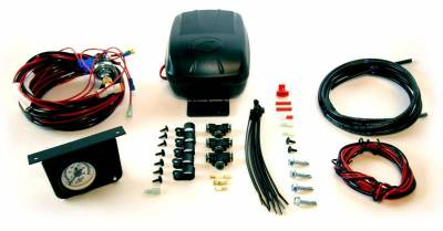 Steering And Suspension - Helper Springs And Load Control - Air Lift - Air Lift LOAD CONTROLLER II; ON-BOARD AIR COMPRESSOR CONTROL SYSTEM; SINGLE GAUGE; 25592