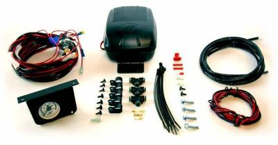 Air Lift - Air Lift LOAD CONTROLLER II; ON-BOARD AIR COMPRESSOR CONTROL SYSTEM; SINGLE GAUGE; 25592 - Image 2