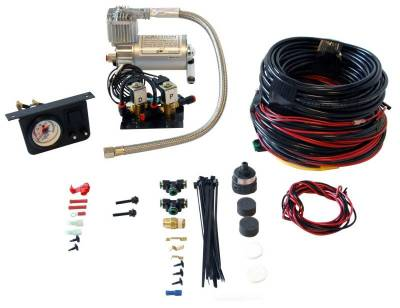 Steering And Suspension - Helper Springs And Load Control - Air Lift - Air Lift LOAD CONTROLLER I; ON-BOARD AIR COMPRESSOR CONTROL SYSTEM; DUAL NEEDLE; INSTALLA 25651