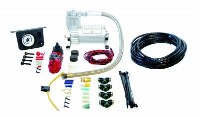 Steering And Suspension - Helper Springs And Load Control - Air Lift - Air Lift LOAD CONTROLLER I; ON-BOARD AIR COMPRESSOR CONTROL SYSTEM; SINGLE NEEDLE; FRONT; 25655