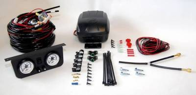 Air Lift - Air Lift LOAD CONTROLLER II; ON-BOARD AIR COMPRESSOR CONTROL SYSTEM; DUAL GAUGE; 25812 - Image 3