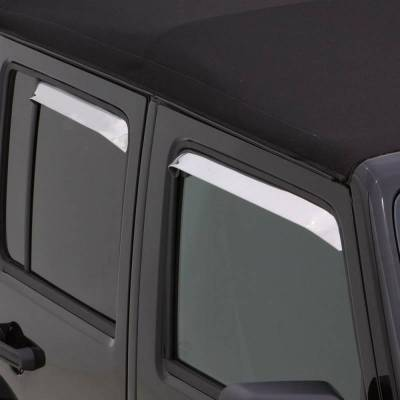 Auto Ventshade (AVS) - Auto Ventshade (AVS) AVS - VENTSHADE - 4PC STAINLESS 14075 - Image 4