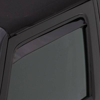 Exterior Accessories - Window Deflectors/Bug Shields - Auto Ventshade (AVS) - Auto Ventshade (AVS) AVS - VENTSHADE - 2PC BLACK 32099