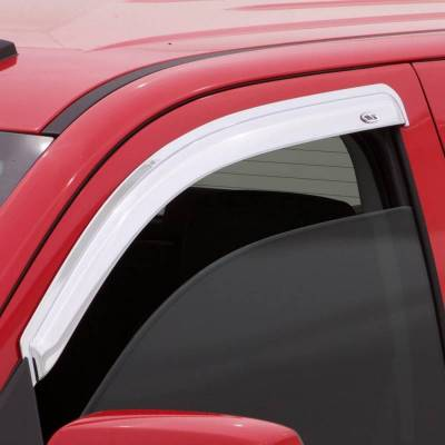 Exterior Accessories - Window Deflectors/Bug Shields - Auto Ventshade (AVS) - Auto Ventshade (AVS) AVS - CHROME VENTVISOR - 2PC 682326