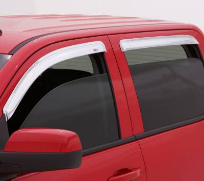 Exterior Accessories - Window Deflectors/Bug Shields - Auto Ventshade (AVS) - Auto Ventshade (AVS) AVS - CHROME VENTVISOR - 4PC 684355