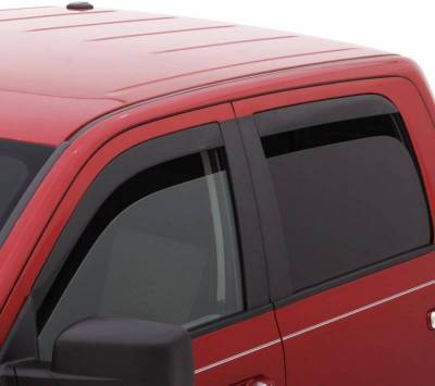 Exterior Accessories - Window Deflectors/Bug Shields - Auto Ventshade (AVS) - Auto Ventshade (AVS) AVS - LOW-PROFILE VENTVISR 4PC SMOKE 894007