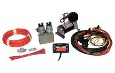 Steering And Suspension - Helper Springs And Load Control - Firestone Ride-Rite - Firestone Ride-Rite Elec Air Cmd-S 2544