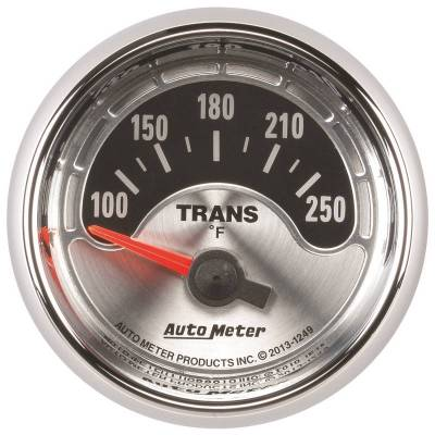 Transmission - Transmission Overhaul Kits And Parts - Auto Meter - Auto Meter Gauge; Trans Temp; 2 1/16in.; 250deg. F; Elec; American Muscle 1249