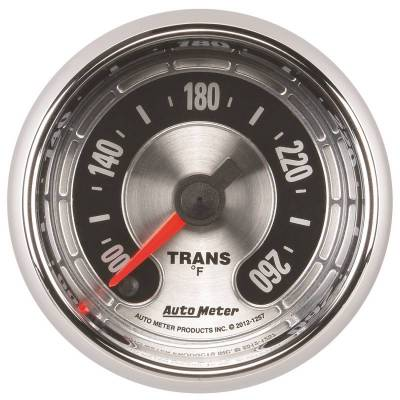 Transmission - Transmission Overhaul Kits And Parts - Auto Meter - Auto Meter Gauge; Trans Temp; 2 1/16in. 260deg. F; Digital Stepper Motor; American Muscle 1257