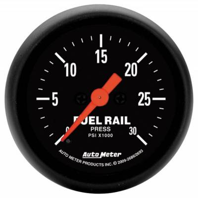 Gauges And Pods - Gauges - Auto Meter - Auto Meter Gauge; Rail Pressure (RAM 6.7L); 2 1/16in.; 30kpsi; Digital Stepper Motor; Z Ser 2693