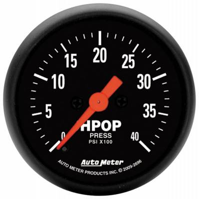 Gauges And Pods - Gauges - Auto Meter - Auto Meter Gauge; High Press Oil Pump; 2 1/16in.; 4kpsi; Digital Stepper Motor; Z Series 2696