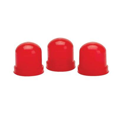 Interior Accessories - Auto Meter - Auto Meter Light Bulb Boots; Red; qty. 3 3214