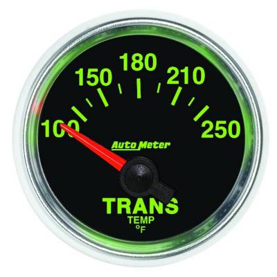 Transmission - Transmission Overhaul Kits And Parts - Auto Meter - Auto Meter Gauge; Transmission Temp; 2 1/16in.; 100-250deg. F; Electric; GS 3849