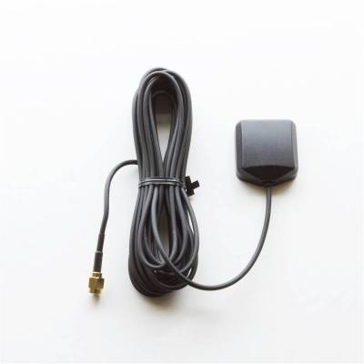 Exterior Accessories - Auto Meter - Auto Meter GPS Antenna; 10Hz; 16ft. Cable; Black; Replacement 5283