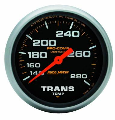 Transmission - Transmission Overhaul Kits And Parts - Auto Meter - Auto Meter Gauge; Oil Temp; 2 5/8in.; 140-280deg. F; Liquid Filled Mech; 8ft.; Pro-Comp 5451