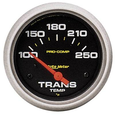 Transmission - Transmission Overhaul Kits And Parts - Auto Meter - Auto Meter Gauge; Trans Temp; 2 5/8in.; 100-250deg. F; Electric; Pro-Comp 5457