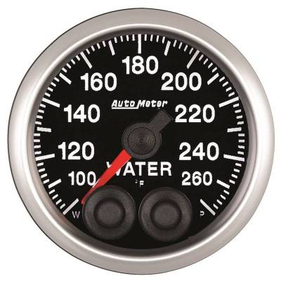 Auto Meter - Auto Meter 2-1/16in. WATER TEMP; 100-260F; COMP 5554