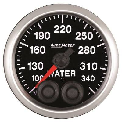 Auto Meter - Auto Meter 2-1/16in. WATER TEMP; 100-340F; COMP 5555