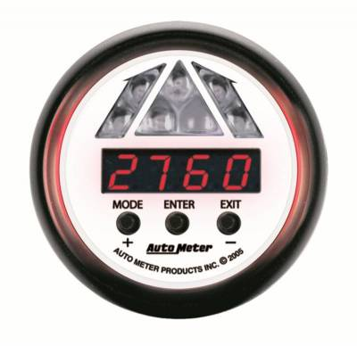 Lighting - Auto Meter - Auto Meter Gauge; Shift Light; Digital RPM w/Amber LED Light; DPSS Level 1; Phantom 5787