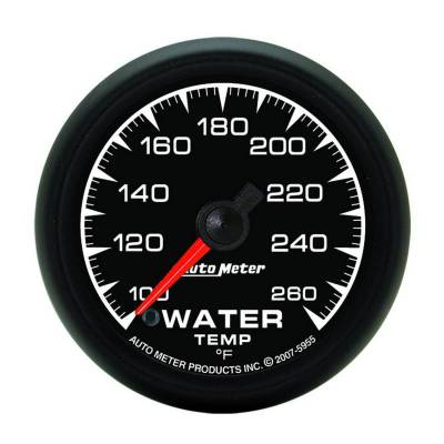 Engine Parts - Cooling System - Auto Meter - Auto Meter Gauge; Water Temp; 2 1/16in.; 100-260deg. F; Digital Stepper Motor; ES 5955