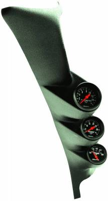 Gauges And Pods - Gauges - Auto Meter - Auto Meter Diesel Gauge Kit; A-Pillar; Ford 99-07; Boost/EGT/Trans; 35psi/1600deg. F/250deg 7072
