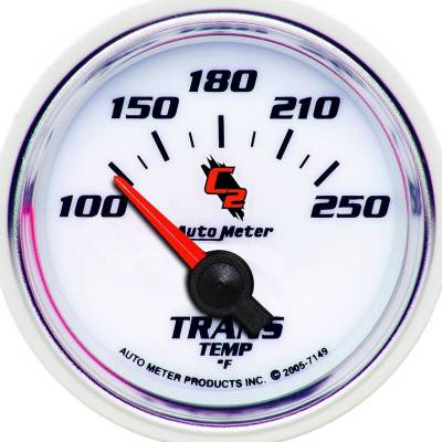 Transmission - Transmission Overhaul Kits And Parts - Auto Meter - Auto Meter Gauge; Transmission Temp; 2 1/16in.; 100-250deg. F; Electric; C2 7149