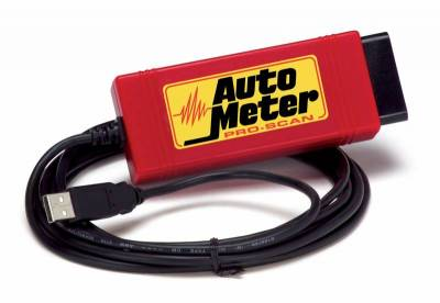 Tools - Diagnostics - Auto Meter - Auto Meter PRO-SCAN; OBDII HARDWARE AND SOFTWARE; DOMESTIC 9214