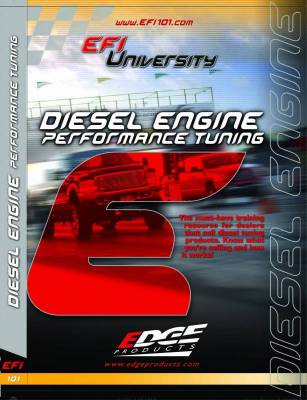 Interior Accessories - Edge Products - Edge Products EFI University Diesel Engine Performance Tuning DVD 99010