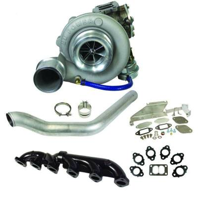 Dodge/Cummins - Turbos - BD Diesel - BD Diesel Super B 600 Turbo Kit - Dodge 2007.5-2012 6.7L Cummins - S366/80 T3 0.80AR 1045141
