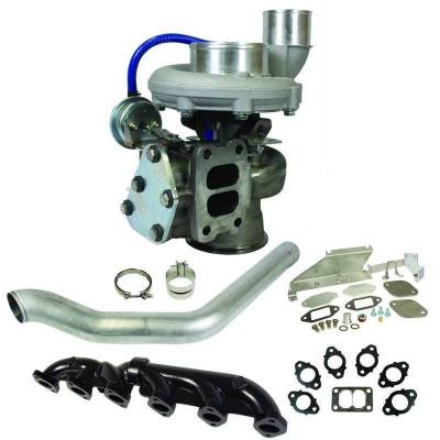 Dodge/Cummins - Turbos - BD Diesel - BD Diesel Super B 650 Turbo Kit - Dodge 2007.5-2012 6.7L Cummins - S367/80 T3 0.80AR 1045142