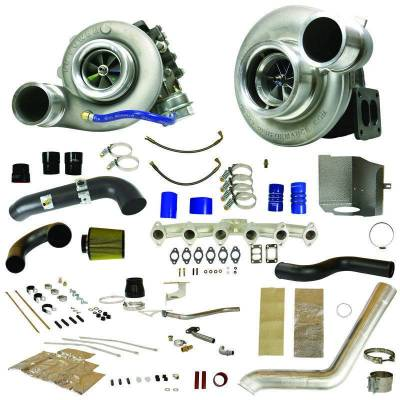 Dodge/Cummins - Turbos - BD Diesel - BD Diesel RT850 Track Master Twin Turbo Kit - 2007.5-2009 Dodge 6.7L 1045482