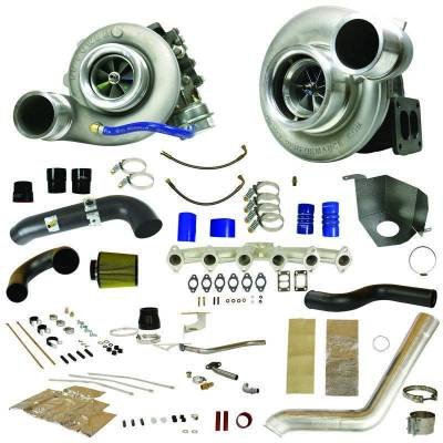 Dodge/Cummins - Turbos - BD Diesel - BD Diesel RT850 Track Master Twin Turbo Kit - 2010-2012 Dodge 6.7L 1045483