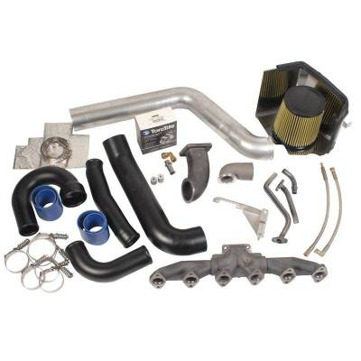 Turbos - Turbo Parts And Accessories - BD Diesel - BD Diesel Twin Turbo R700/R850 Piping-Plumbing Kit - Dodge 2003-2007 5.9L 1045535