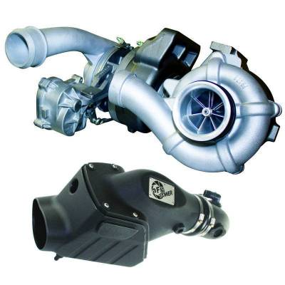 Turbos - Turbo Parts And Accessories - BD Diesel - BD Diesel Twin Turbo System - Ford 6.4L 2008-2010 c/w Air Intake Kit 1047080
