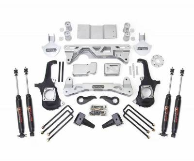ReadyLift - ReadyLift 2WD ONLY LIFT KIT 7-8in. FRONT 5in. REAR INCLUDES SHOCKS 44-3251 - Image 2