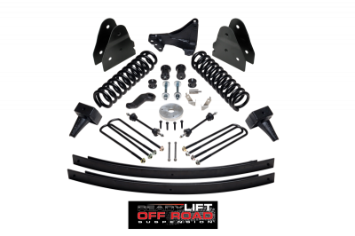Steering And Suspension - Lift Kits/Leveling Kits - ReadyLift - ReadyLift 6.5in. Lift Kit Series 1 49-2610