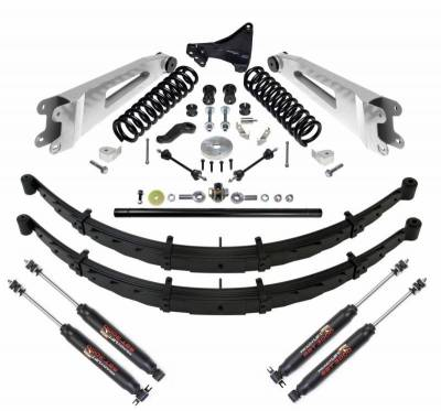 Steering And Suspension - Lift Kits/Leveling Kits - ReadyLift - ReadyLift 6.5in. LIFT KIT SERIES 3 W/ SHOCKS 49-2702