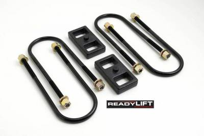 Steering And Suspension - Lift Kits/Leveling Kits - ReadyLift - ReadyLift 1.0in. REAR OEM STYLE LIFT BLOCK KIT 66-1201