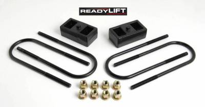 Steering And Suspension - Lift Kits/Leveling Kits - ReadyLift - ReadyLift 2.0in. OEM STYLE REAR LIFT BLOCK KIT 66-1202