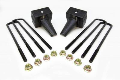 Steering And Suspension - Lift Kits/Leveling Kits - ReadyLift - ReadyLift 5in. REAR LIFT BLOCKS WITH BUMP STOP LANDING FOR DUAL REAR WHEEL VEHICLES 66-2025