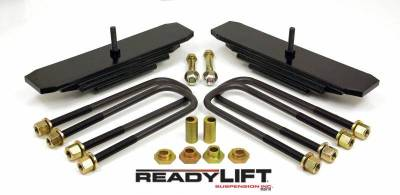 Steering And Suspension - Lift Kits/Leveling Kits - ReadyLift - ReadyLift 2.0in. FRONT MINI SPRING PACK LEVELING KIT WITH CAM BUSHINGS 66-2085
