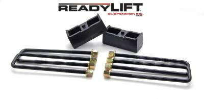 ReadyLift - ReadyLift 2.25in. TALL OEM STYLE REAR LIFT BLOCK KIT 66-3002